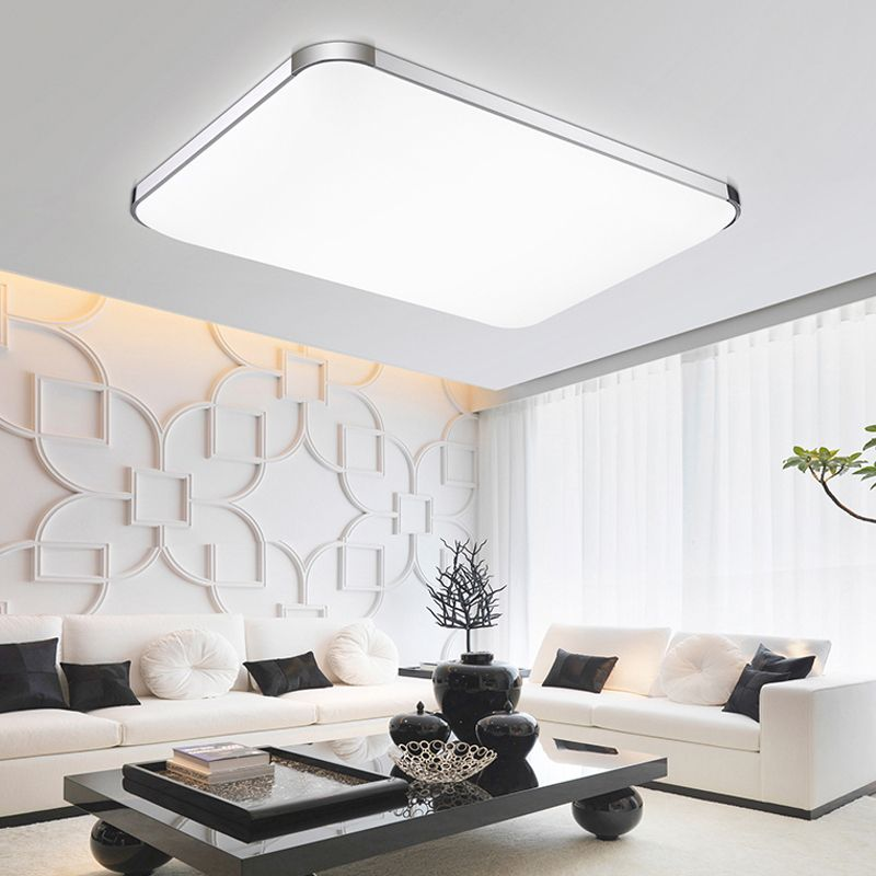 Hot sale square&rectangle modern ceiling lights lamp living room ...
