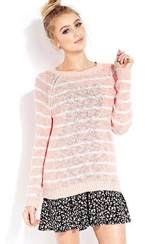 Cozy Day Striped Sweater | FOREVER21 - 2000091101