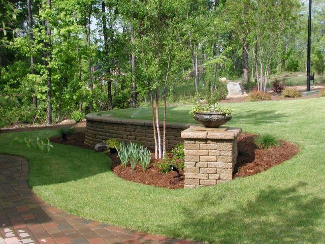 95 stunning retaining wall ideas sloped garden on retaining wall id=19725
