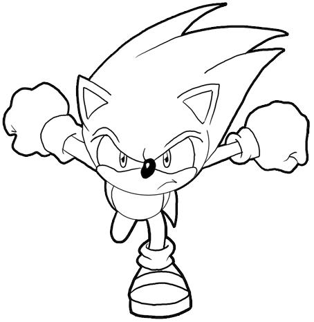 How To Draw Sonic The Hedgehog Step By Step Drawing Lesson How To Draw Step By Step Drawing Tutorials Hedgehog Colors How To Draw Sonic Hedgehog Drawing