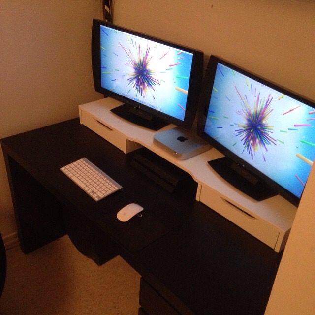 Desk Setup Mac Mini Gaming Ps4