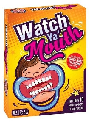 Christmas gift idea toys for kids and family Watch ya Mouth game