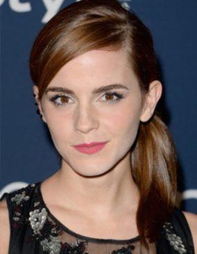 Emma Watson Ponytail Hairstyles Emma Watson Hair Styles Ponytail Hairstyles
