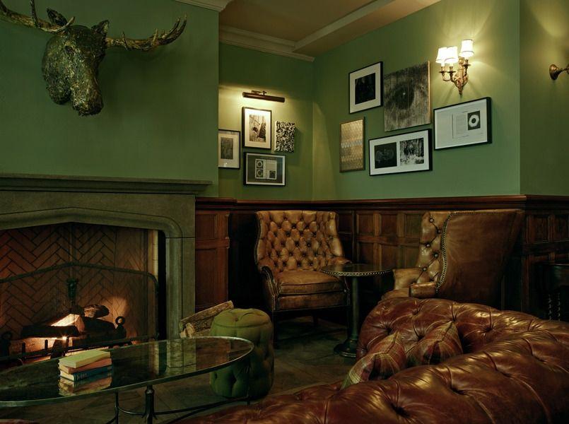 Past Job By Renaissance London Antique Fireplace At Soho House Toronto Renaissancelondon