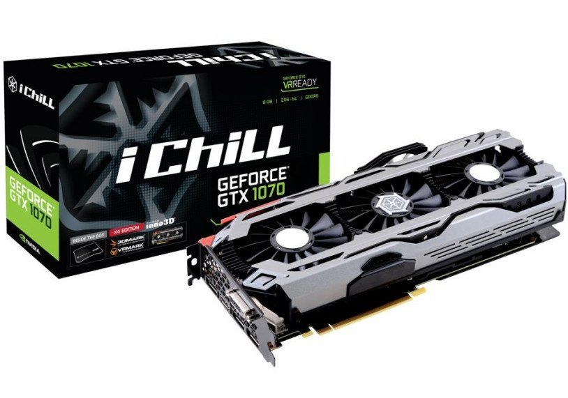Inno3d Launches The Geforce Gtx 1070 Ichill Series Graphics Cards Graphic Card Nvidia Gaming Accessories