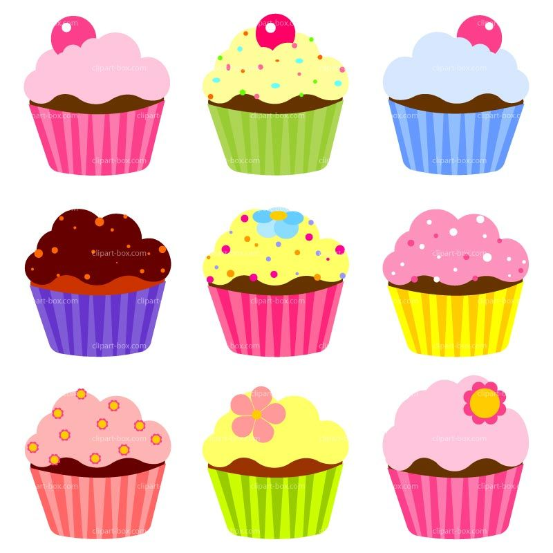 cupcake clipart free large images print pinterest rh pinterest com cupcake clipart free printable cupcake clipart free download