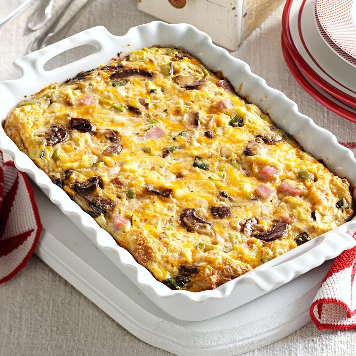 brunch strata - Cheese Strata Recipes Brunch