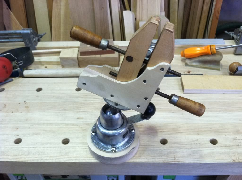 Woodnet Forums Not A Gyro Vise Shop Projects Short
