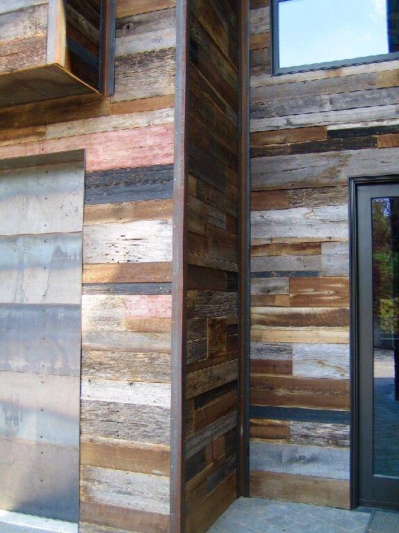 Reclaimed wood exterior siding barnwood naturals llc - Reclaimed wood for interior walls ...