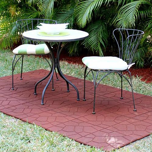 Patio Outdoor Rubber Tile With