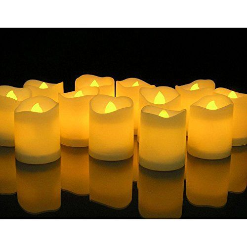 Flameless Votive Candles Novelty Placeâ® Longest Lasting Battery Operated Flickering