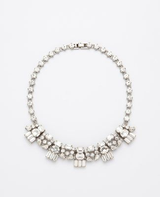 great statement sparkly necklace