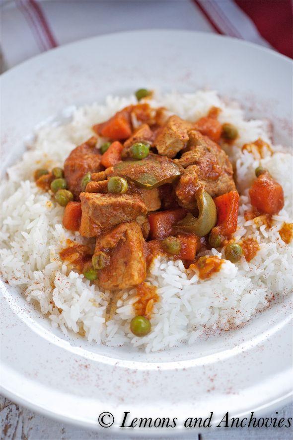 Spicy Pork Stew (Filipino Menudo)