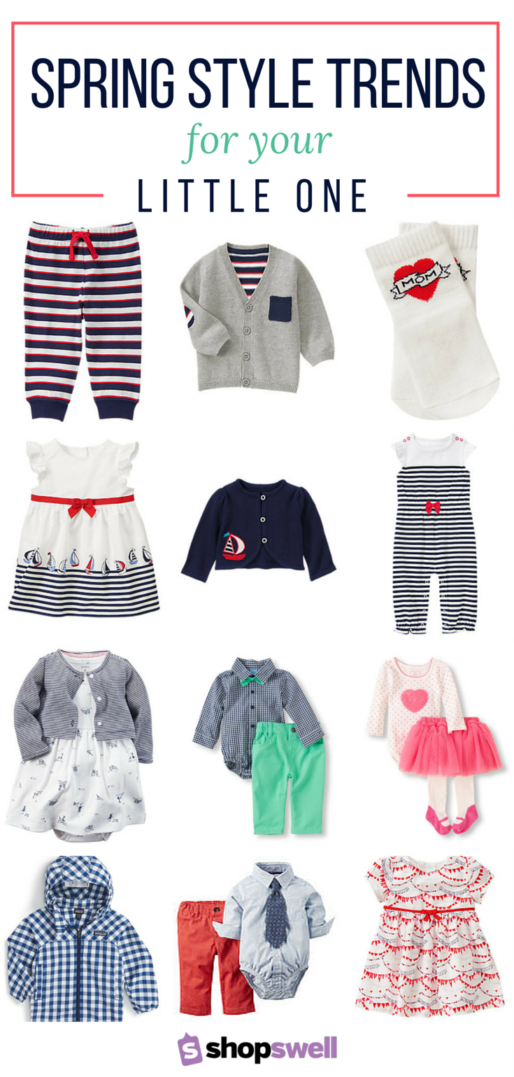 d737eaacef Your one-stop shopping list for the latest in baby fashion trends for your  little boy or girl.