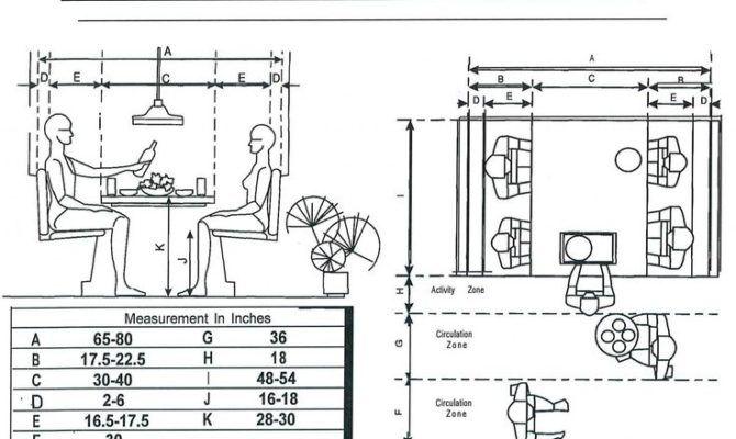 Measurements Breakfast Booth Floor Plans Booths Tables Bars masa