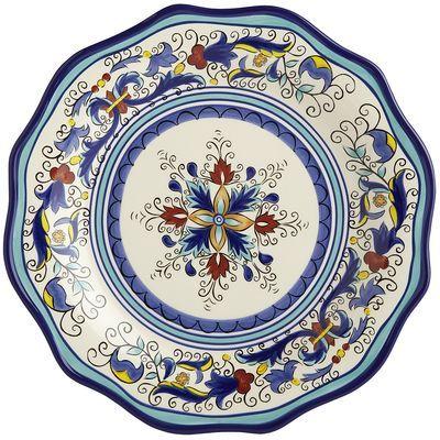 San Marino Dinner Plate-Pier One  sc 1 st  Pinterest & San Marino Dinner Plate-Pier One | ChrisB House | Pinterest | House