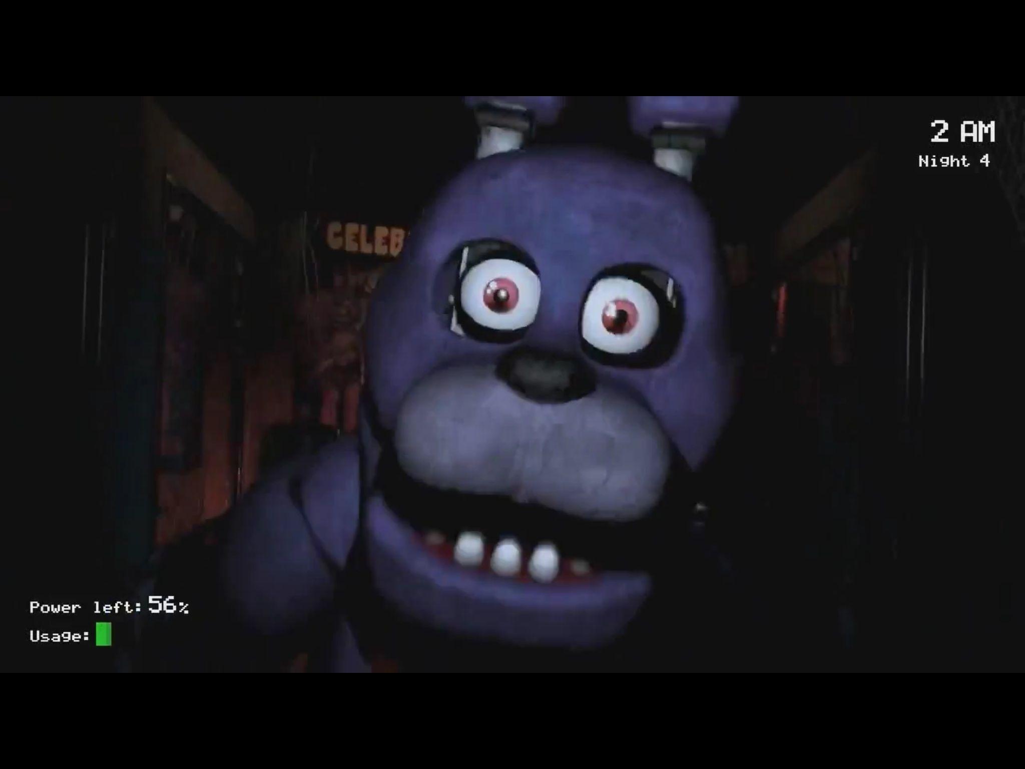 Five Nights At Freddy's Bonnie Animated bonnie jumpscare | five nights at freddy's, five night, fnaf