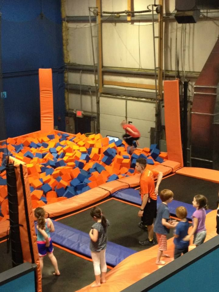 Skyzone Trampoline Park I Am Beyond Excited That They Have One In