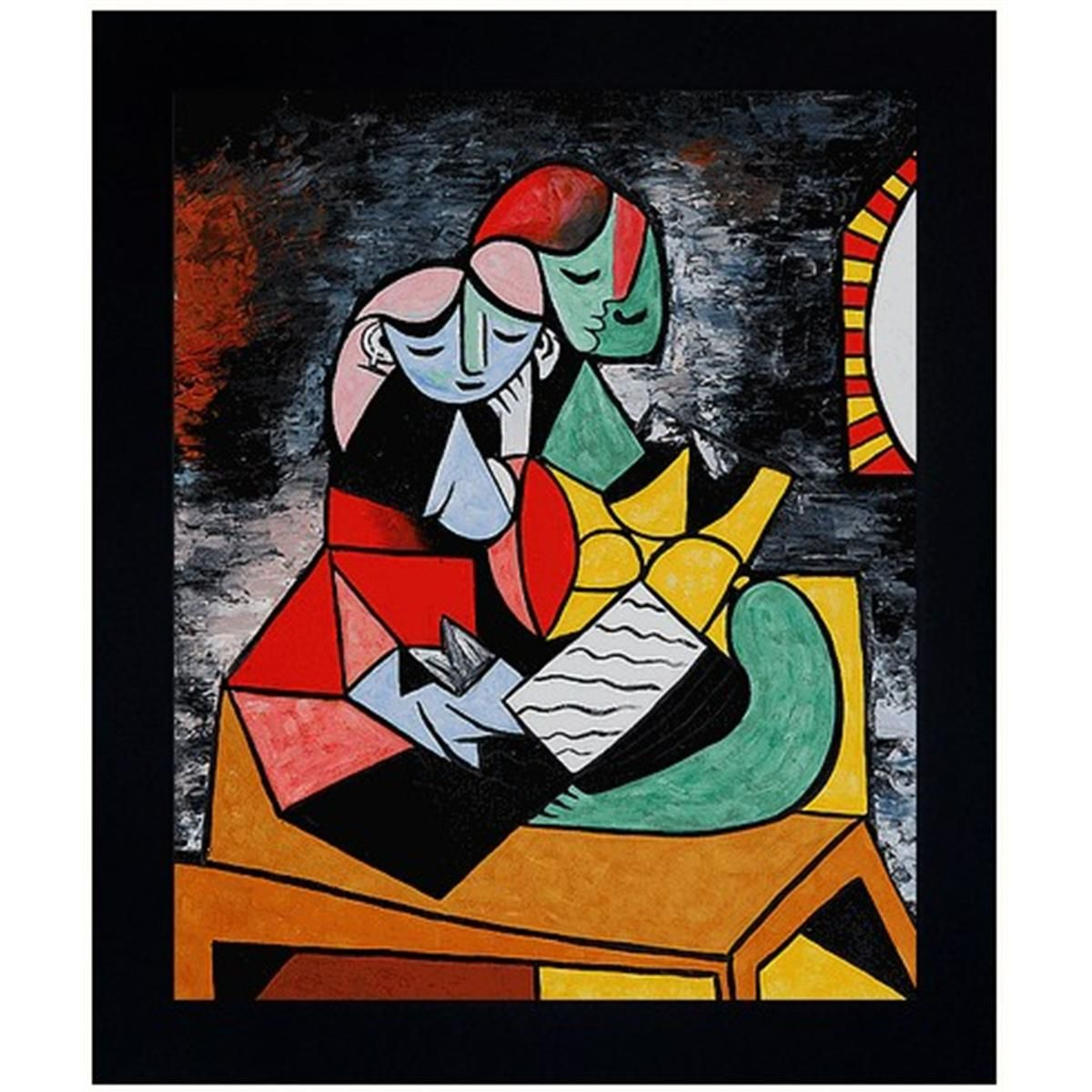Picasso - La Lecture Oil Painting | art | Pinterest | More best ...