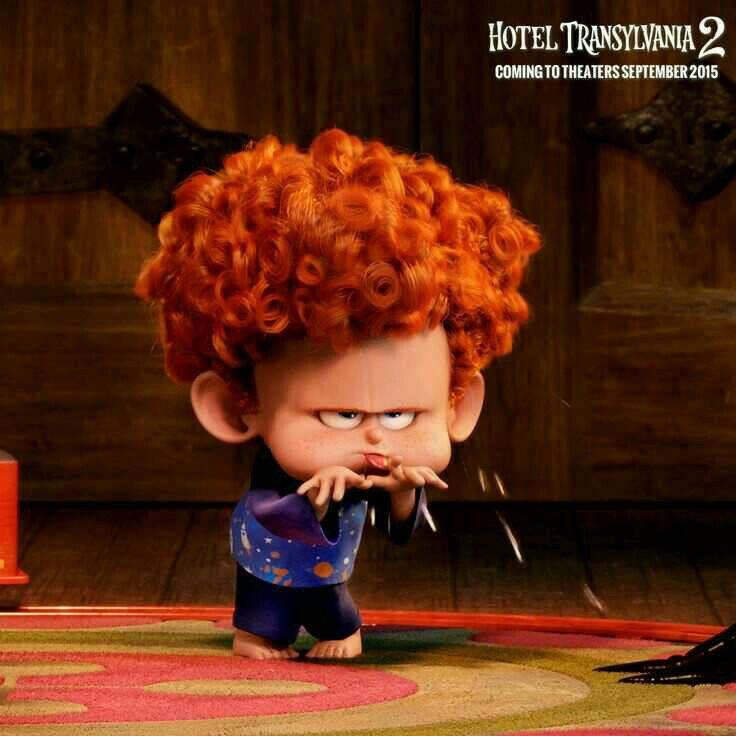 Famoso HOTEL TRANSYLVANIA 2 ~ MAVIS Disney | cartoon characters  PZ78