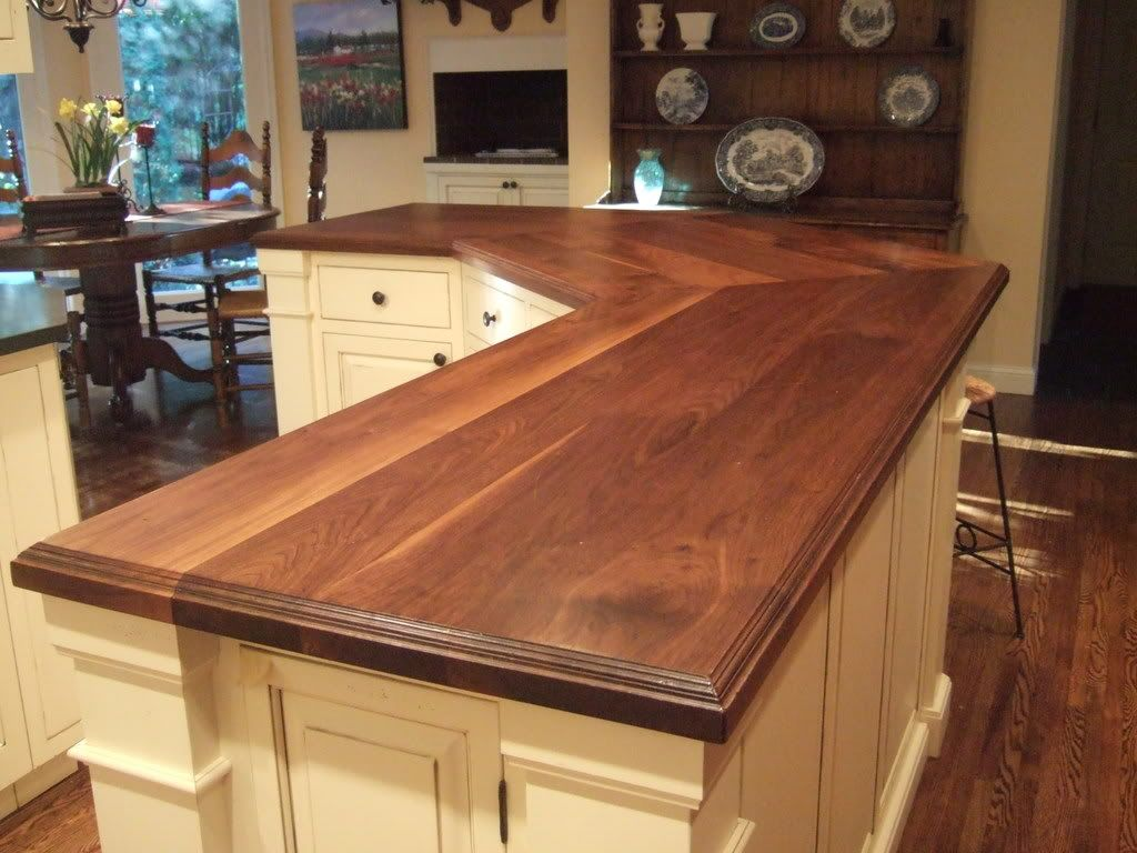 Kitchen Counter Top Solid Wood Countertops Wide Plank And Butcher Block Tops