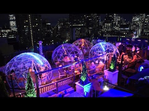 Go Have A Drink In This Awesome Rooftop Igloo This Winter New