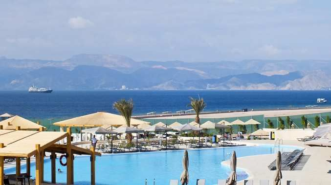 DoubleTree by Hilton Hotel Aqaba. Best of the Middle East 2014.