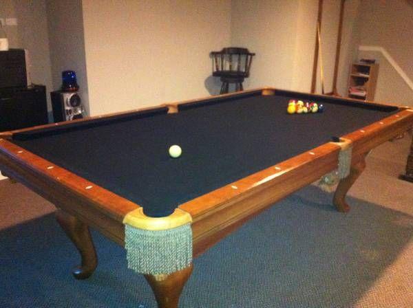 Brunswick Billiards Brookstone Pool Table SOLD Sold Used Pool - Brunswick brookstone pool table