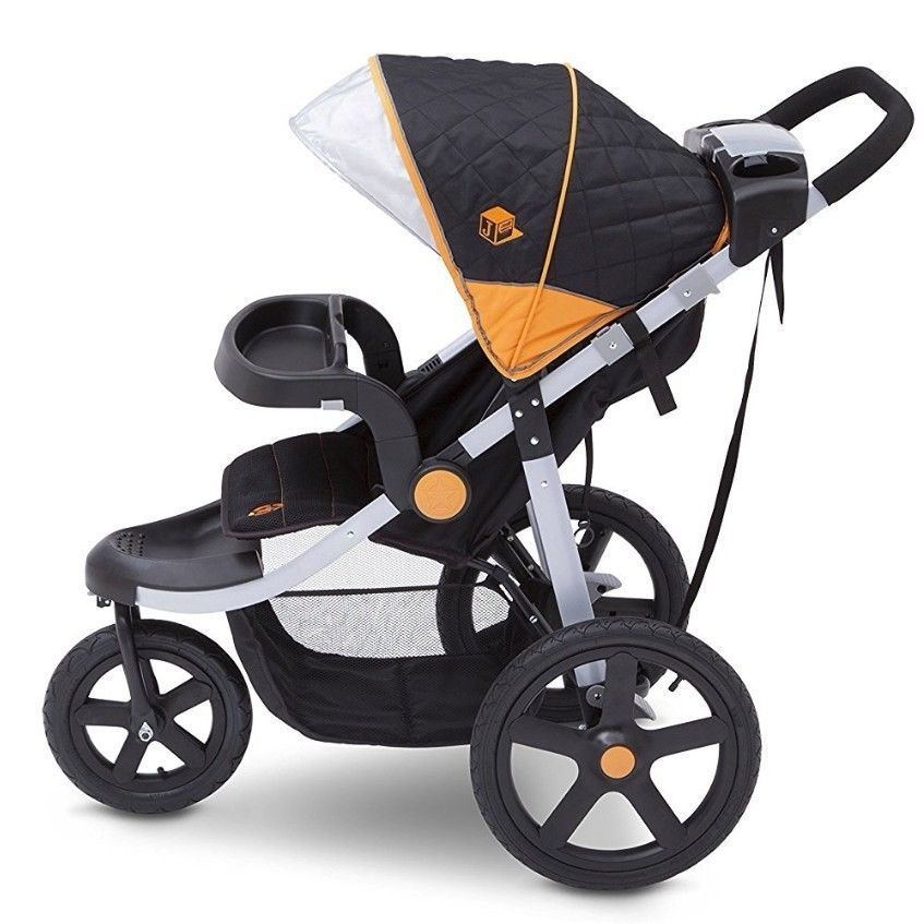 Jogging Stroller Baby Jogger All Terrain Pushchair Quick Folding 3