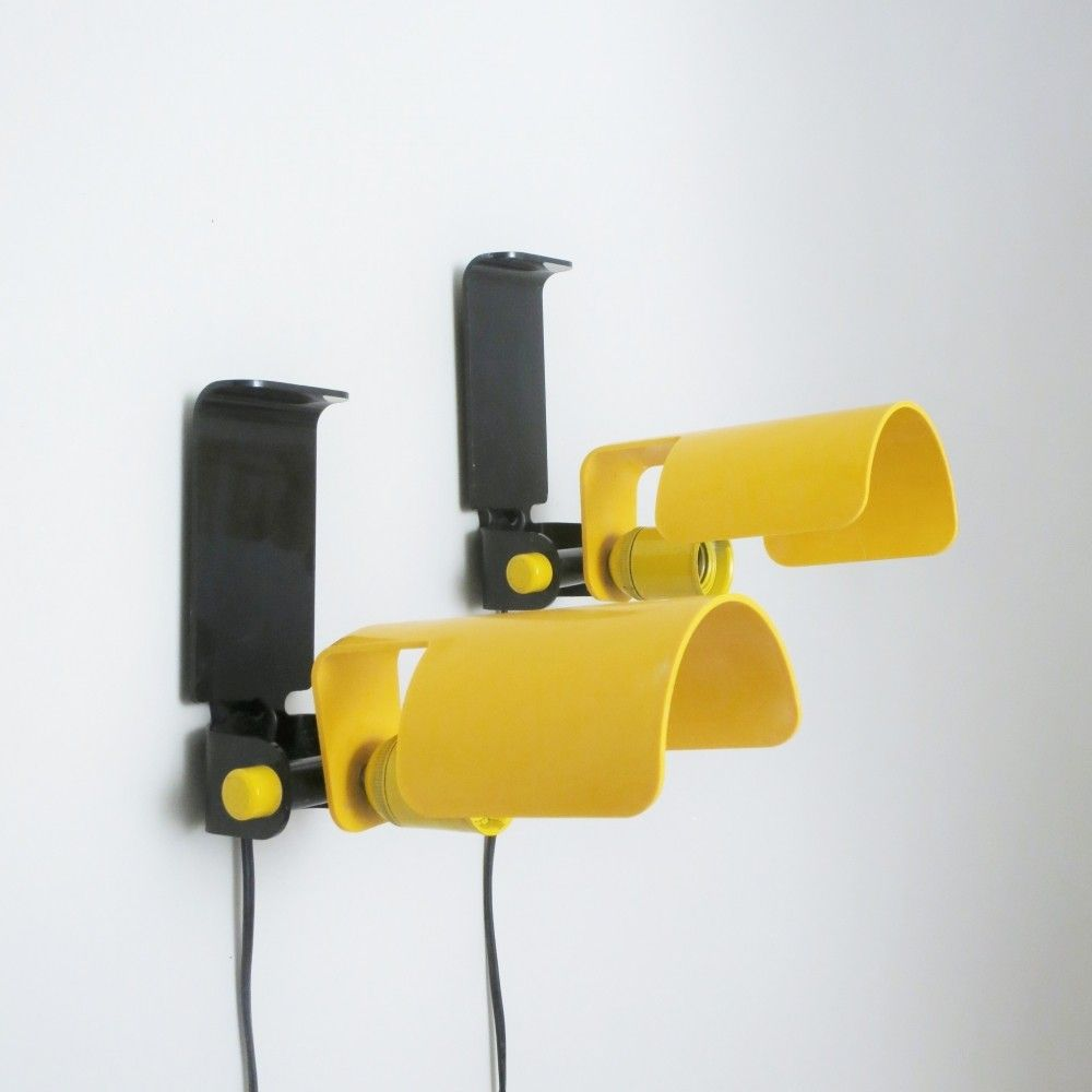 Set Of 2 Wall Lamps From The Seventies By G Galizzi For Lamperti