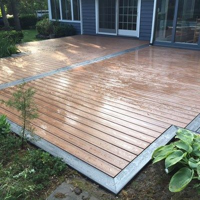 Setauket Picture 3656 Patio Deck Designs Trex Patio Small Backyard Decks