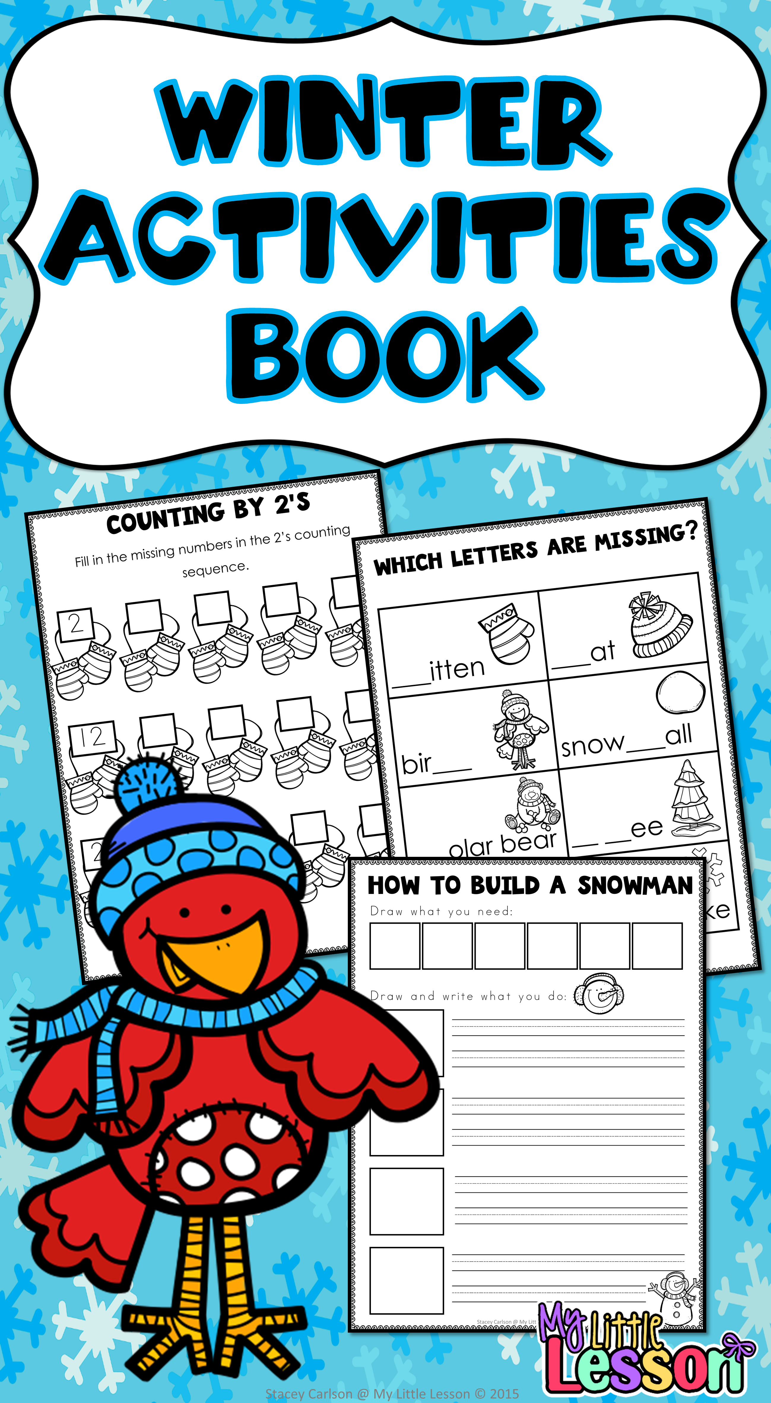 Winter Activities And Worksheets With Images