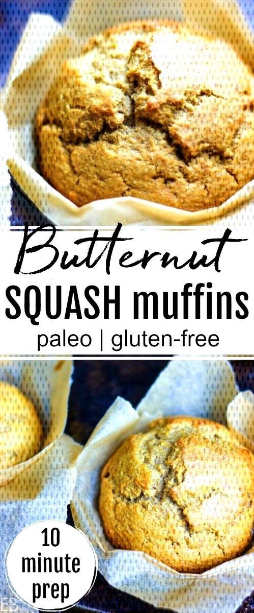 Butternut Squash Muffins Paleo  Eat Beautiful Butternut Squash Muffins are Paleo and GlutenfreeButternut Squash Muffins are Paleo and Glutenfree and take just 10 minutes...
