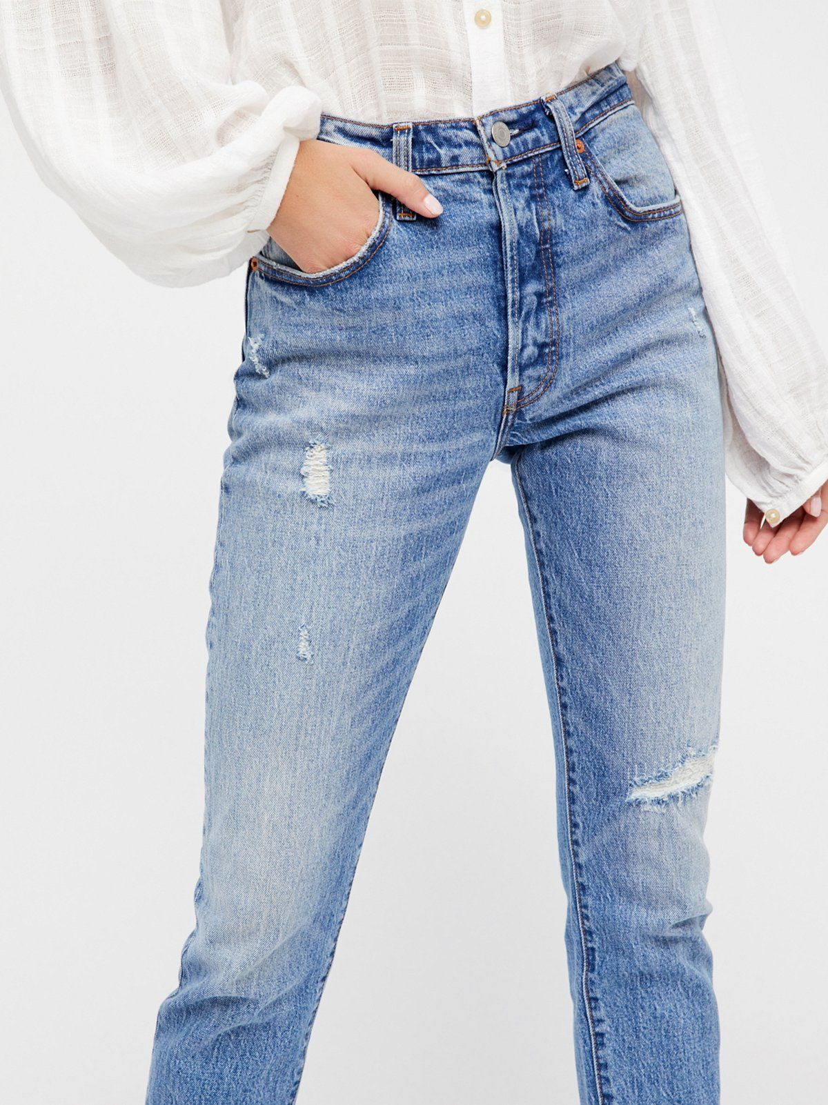 030c592fa188 501 Skinny Jeans | The iconic Levi's 501 has been reimagined with a slimmer skinny  leg and a high-rise. * Fits straight through the hip and thigh.