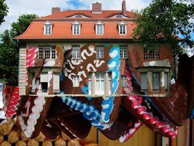 #Darmstadt, #Designhaus an der #Mathildenhöhe, #digitaleMontage