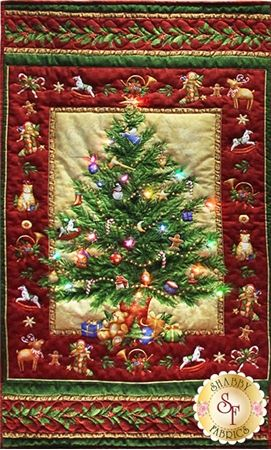 Old Time Xmas Wallhanging Kit with Lights If you\u0027ve been looking