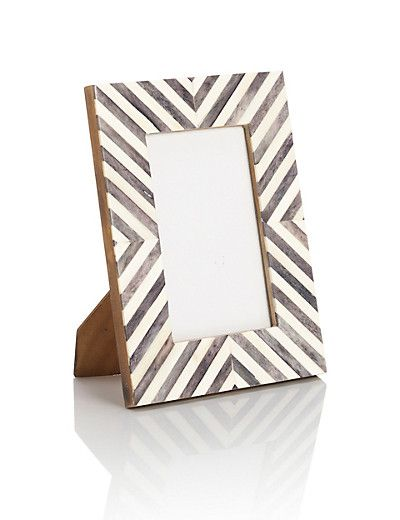 Chevron Bone Frame 10 X 15cm 4 X 6 Chevron Frames Photo Frames Frame