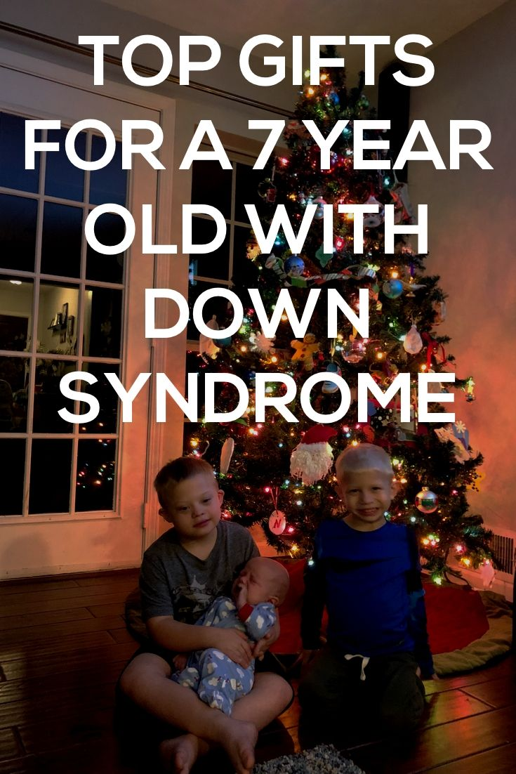 check out this list of christmas gift ideas for a 7 year old born with down syndrome via noahsdaddotcom
