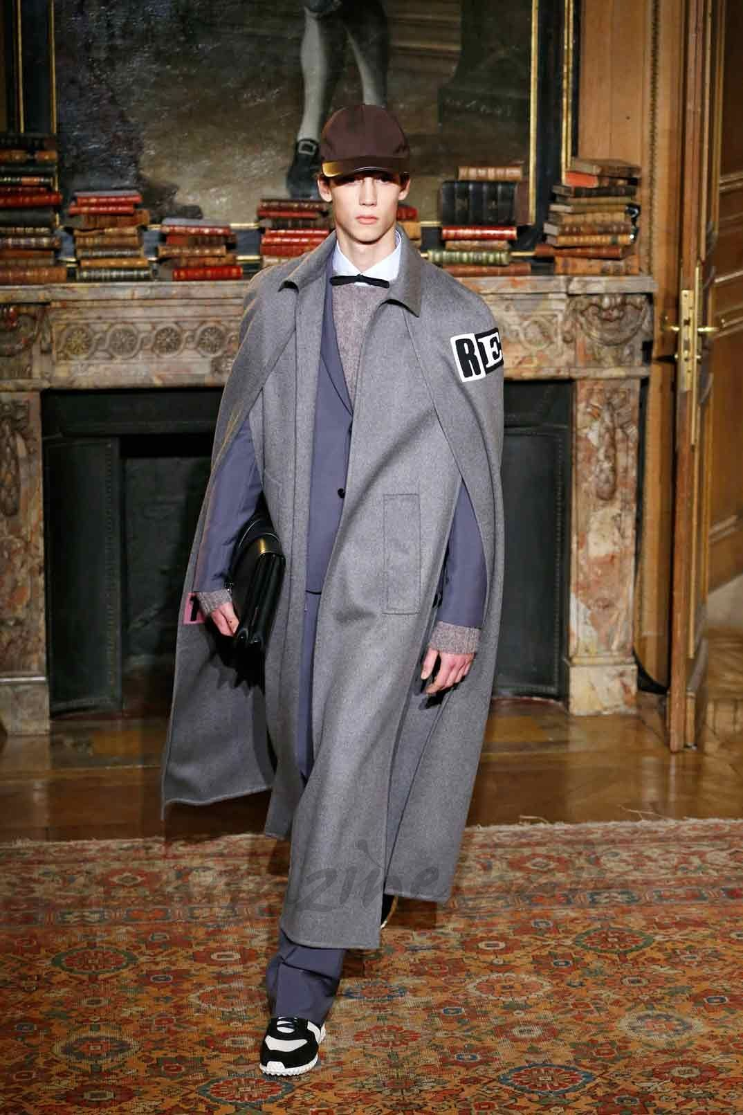 París Men Fashion Week: Otoño-Invierno 2017-2018 - Valentino
