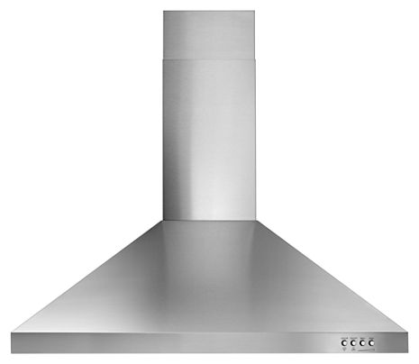 Stainless Steel 30 Contemporary Stainless Steel Wall Mount Range Hood Wvw53uc0fs Whirlpool Wall Mount Range Hood Stainless Range Hood Range Hood