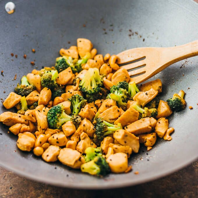 Heres The Simplest Recipe For Cashew Chicken And Broccoli -8468