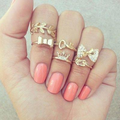 Resultado de imagen para anillos para los dedos