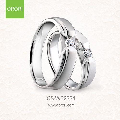 Simple And Elegant Round Diamond Wedding Rings In 18k White Gold Round Diamond Wedding Rings Wedding Rings Diamond Wedding Rings