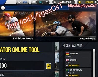 """Check out new work on my @Behance portfolio: """"Hack MLB 9 Innings 16 Generator Online Tool"""" http://be.net/gallery/45498813/Hack-MLB-9-Innings-16-Generator-Online-Tool"""