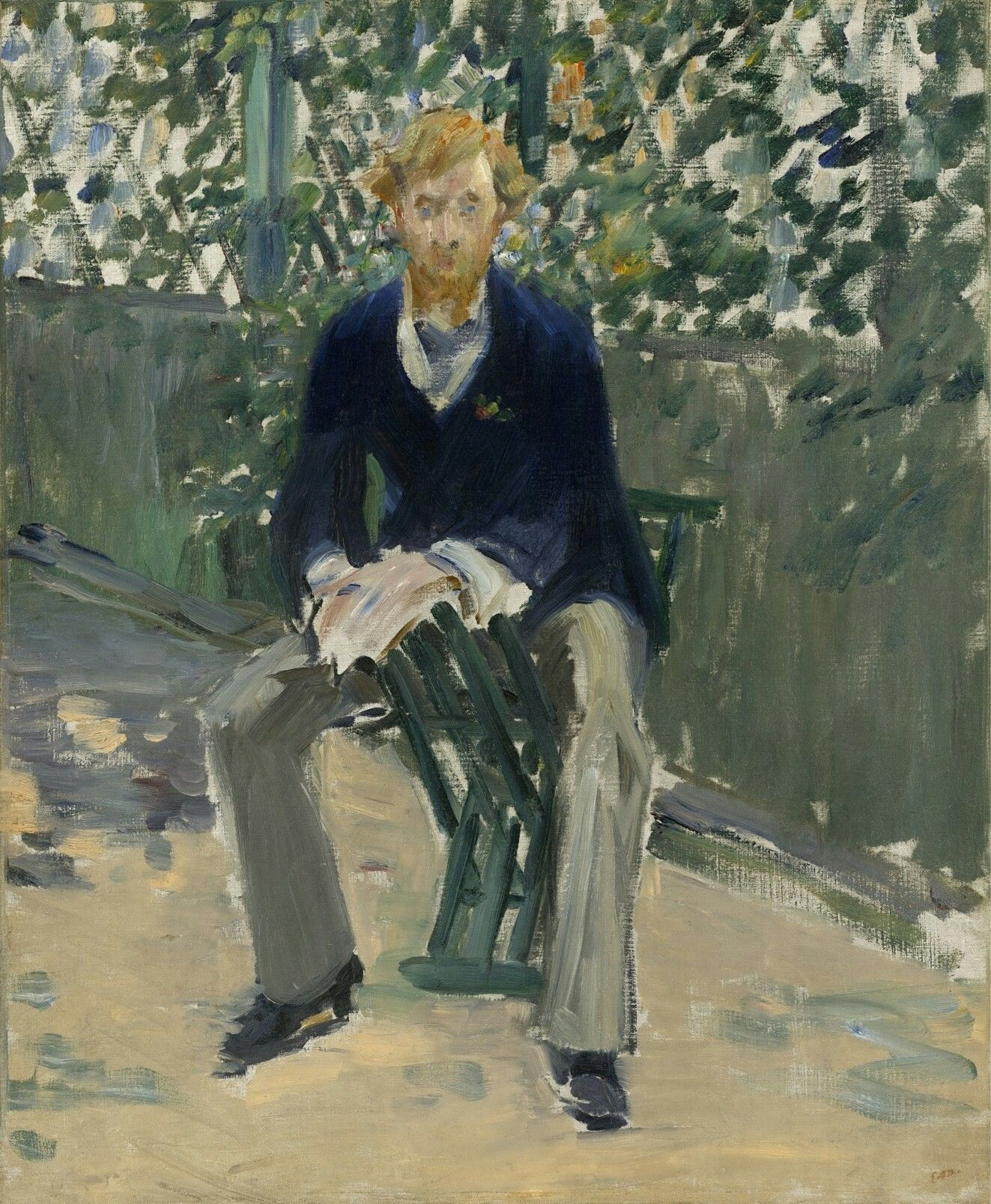Картинки по запросу edouard manet portrait of george moore