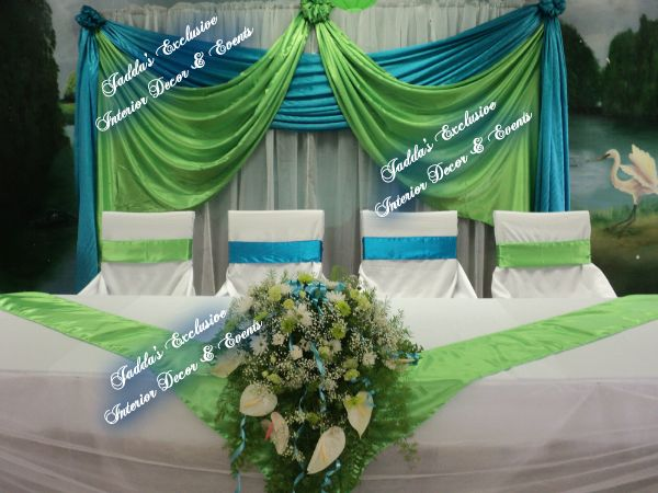 lime green and turquoise wedding | ... Events (Weddings and Events ...