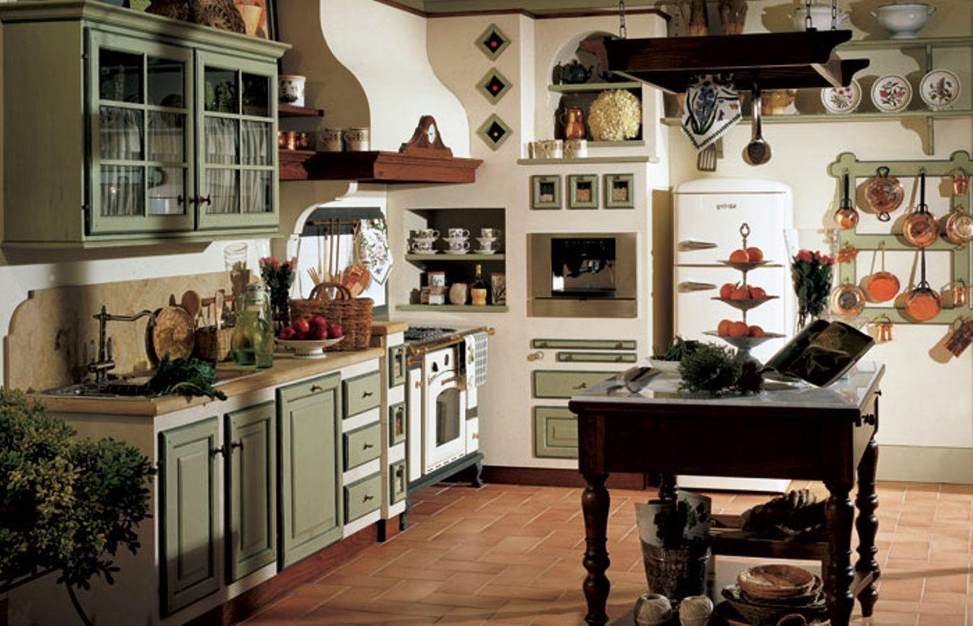 CUCINA IN MURATURA | Cucina | Pinterest | Cucina, Cucine e Cucine ...