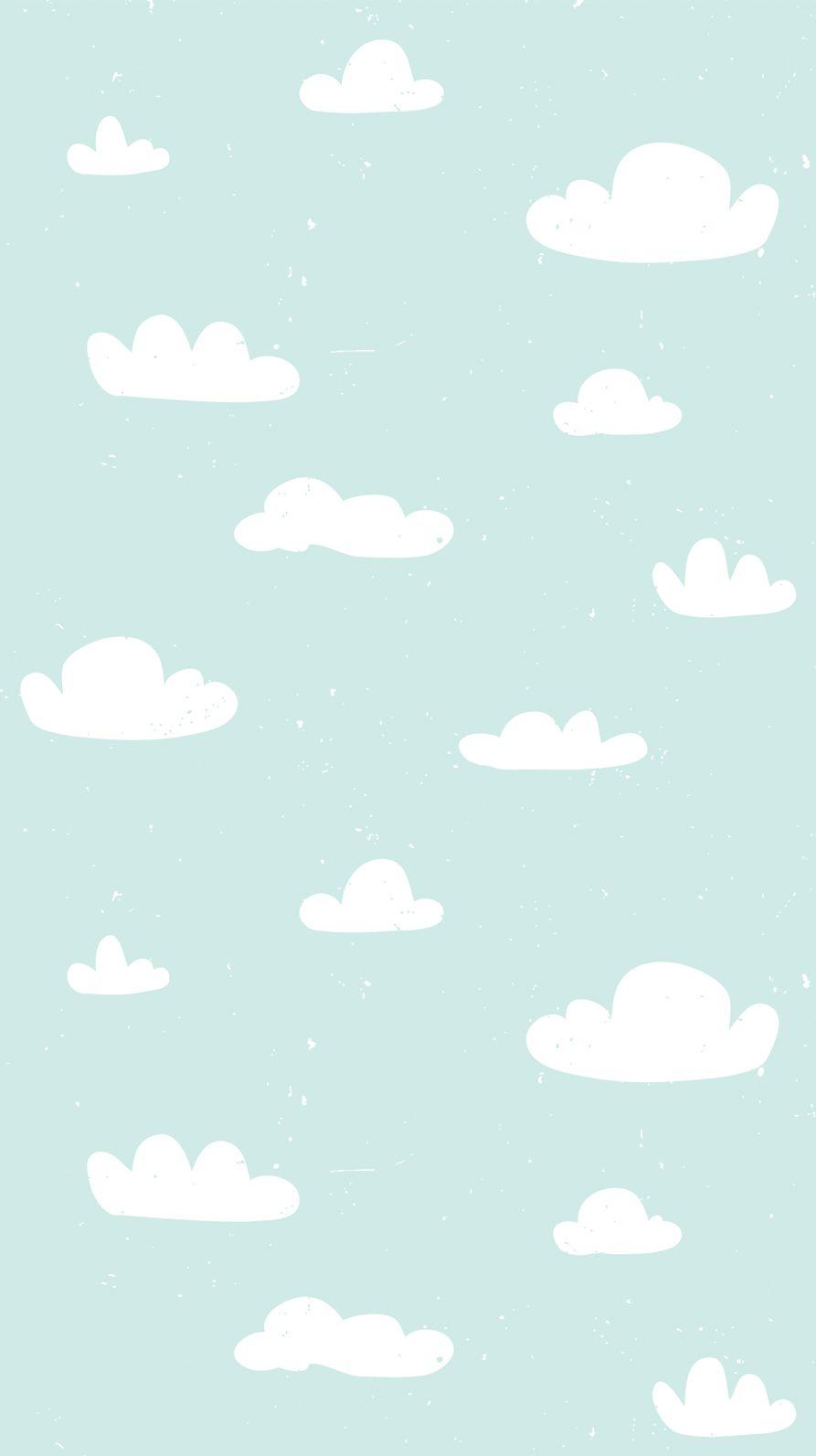 Love Blue Sky iPhone Wallpaper Home Screen @PanPins | Iphone homescreen wallpaper, Iphone ...