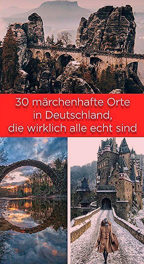 Photo of 30 märchenhafte Orte in Deutschland, die wirklich alle echt sind