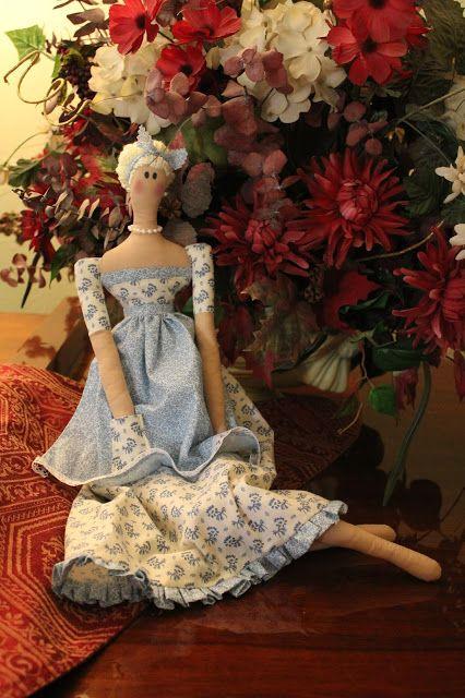 Note Songs - my June Cleaverish Tilda Doll